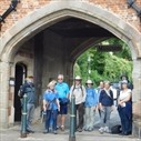 At the Abbey Gateway