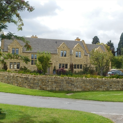 Expensive houses in the Cotswolds