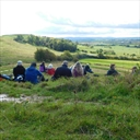Lunchtime at Oxonton Hill